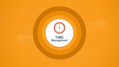 Time Management title slide