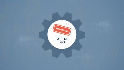 Talent Track title